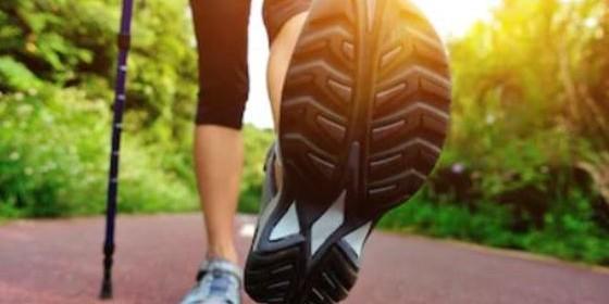 Zapatillas para andar con amortiguación