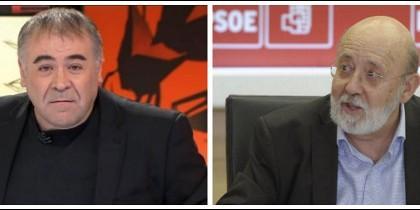 Antonio García Ferreras y José Félix Tezanos.