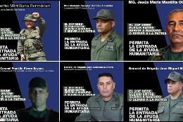 Campaña de Juan Guaidó para los militares venezolanos