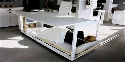 Mesa para siesta