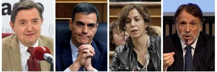 Losantos, Sánchez, Lozano y Creuheras.