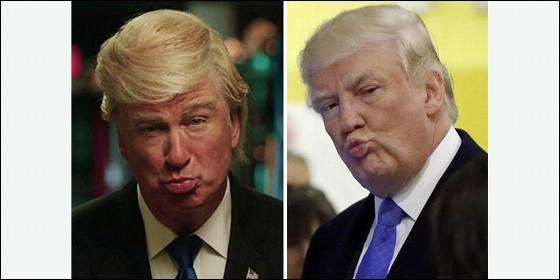 Trump y Alec Baldwin