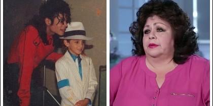 Michael Jackson y Adrian McManus