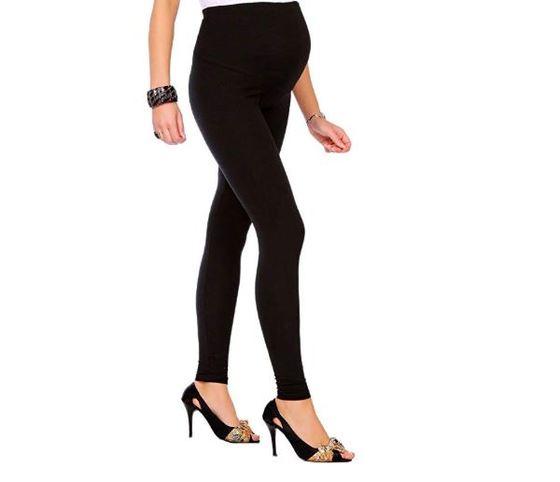 cf142e698 Los leggins puede ser un buen comodín cuando estás embarazadas