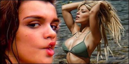 Oriana Marzoli y Amaia Romero