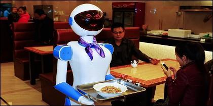 Robot camaerero