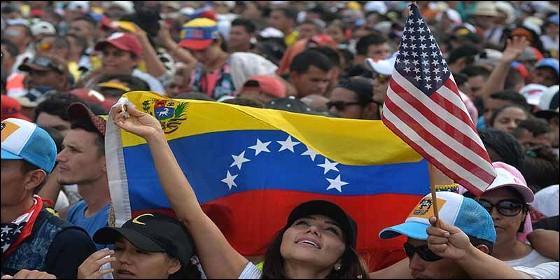 Multitudinaria movilización popular en favoir de la ayuda humanitaria para Venezuela