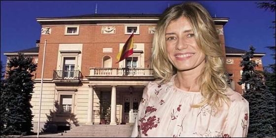 Begoña Gómez en La Moncloa.