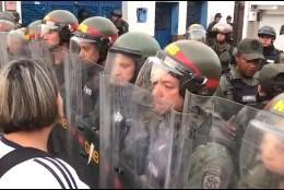 Conflicto y represión chavista