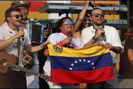 El concierto 'Venezuela Aid Live' en Cucuta.
