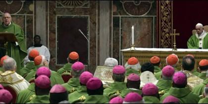 Misa clausura de la cumbre antiabusos celebrada en el Vaticano