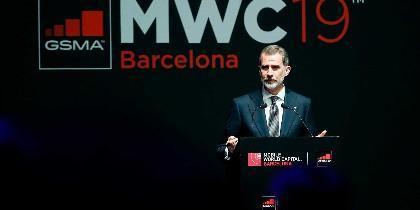 El rey Felipe en el Mobile World Congress
