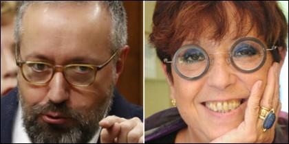 Juan Carlos Girauta y Maruja Torres