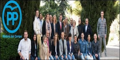 Candidatura del PP en las últimas elecciones municipales de Medina del Campo