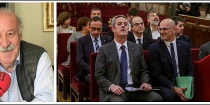 Vicente del Bosque en RAC1 y el juicio a los políticos golpistas.