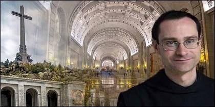 Santiago Cantera, prior de los monjes benedictinos en Valle de los Caídos y la basílica excavada bajo la Cruz.