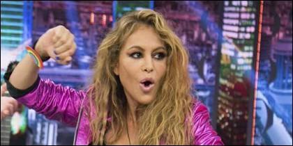 Paulina Rubio en Antena 3.