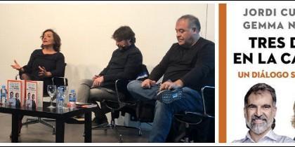 Gemma Nierga, Pepa Bueno, Jordi Évole, Antonio García Ferreras y el libro.
