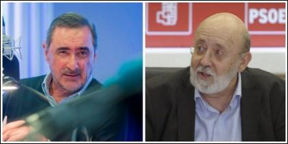 Carlos Herrera y José Félix Tezanos.
