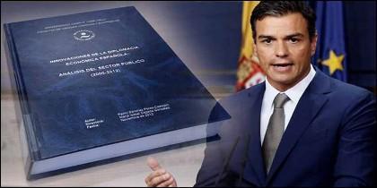 Pedro Sánchez, alias 'Dr Plagio' y su tesis copiada.