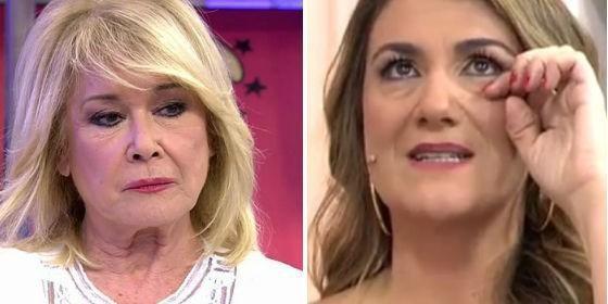 Un micro abierto emite la burla de Mila Ximénez a Carlota Corredera y estalla `Sálvame`