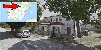 La farmacia de Villar del Río en Soria.