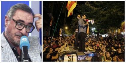 Carlos Herrera y el acoso a la Consejería de Economía donde estaba Montserrat del Toro.