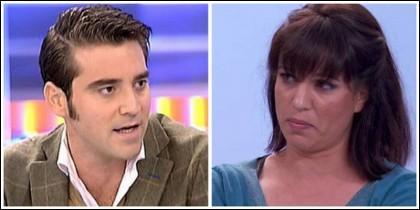 Javier Negre y Beatriz Talegón.