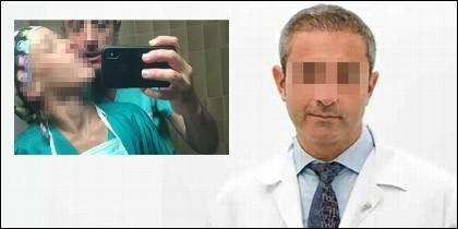Doctor L, el cirujano que se lo montaba en el lavabo.