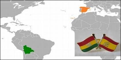Bolivia y España.
