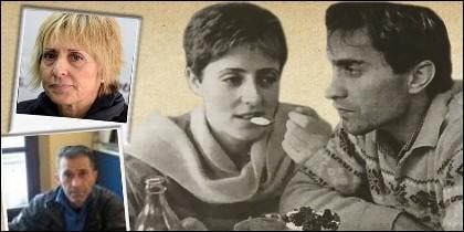 Pilar Baeza y Lolo, en una fotografía actual y en otra antigua