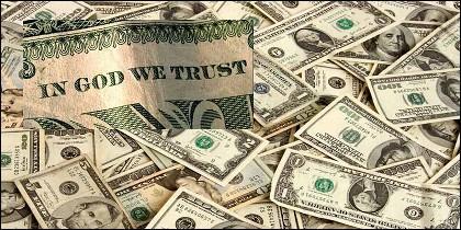 La frase 'In God we trust' ('En Dios confiamos'), aparece en todas las monedas y billetes de dólar.