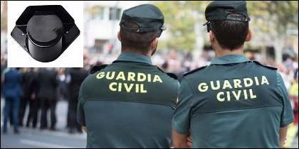 El tricornio y la Guardia Civil.