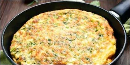 Tortilla de ajos tiernos