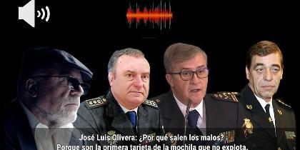 Villarejo, Olivera, Eloy Quirós y Juan Antonio González