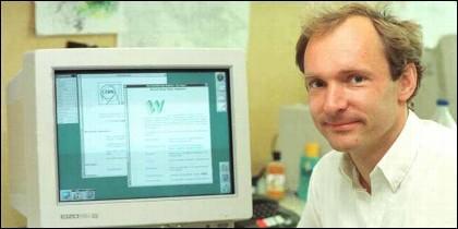 Internet: El físico Tim Berners-Lee inventó la World Wide Web.