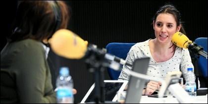 Pepa Bueno alucina escuchando a Irene Montero.