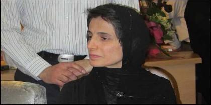 La abogada Nasrín Sotudé.
