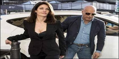 Cristina Pujol con Kiko Matamoros.
