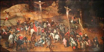 La 'Crucifixión' del pintor Brueghel el Joven.