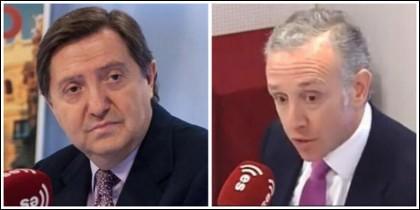 Federico Jiménez Losantos y Eduardo Inda.