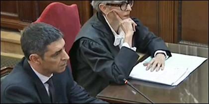 El ex jefe de los Mossos d'EsquadraJosep Lluís Trapero.