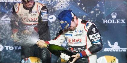 Fernando Alonso gana las 1.000 Millas de Sebring.
