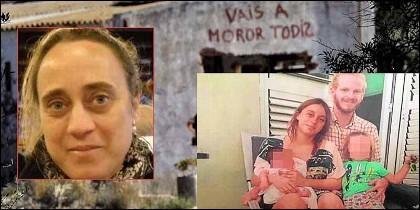Noemí Mensua, su hija María, Salvador y los niños asesinados en Godella.