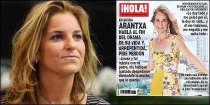 Arantxa Sánchez Vicario y su exclusiva en 'Hola'.