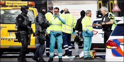 Posible atentado terrorista en Holanda.