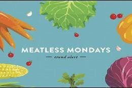 Meatless Monday o Lunes sin carne.
