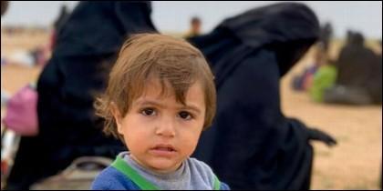 Estado Islámico, niño