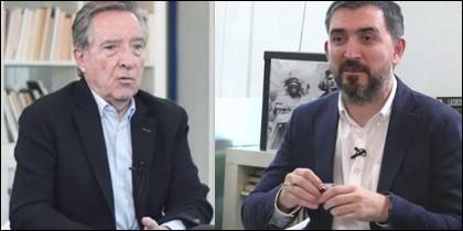 Iñaki Gabilondo e Ignacio Escolar.