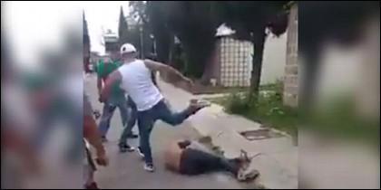 Linchan a un ladrón en México